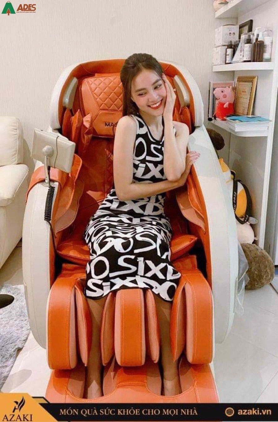 Ghe Massage Azaki Maxxspeed ES30 thuc te
