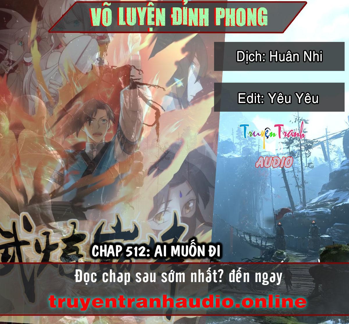 Võ Luyện Đỉnh Phong chap 512 - Trang 1