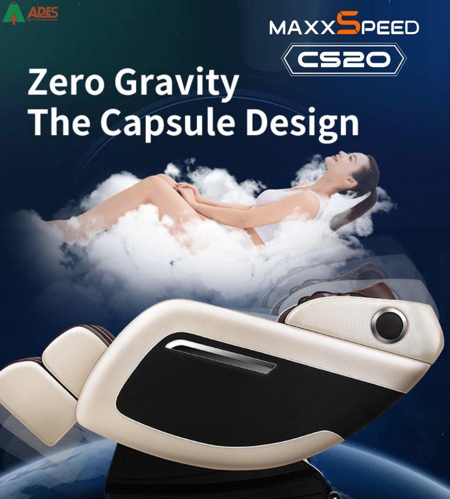 Azaki CS20 co Chuong trinh massage khong trong luc Zero Gravity