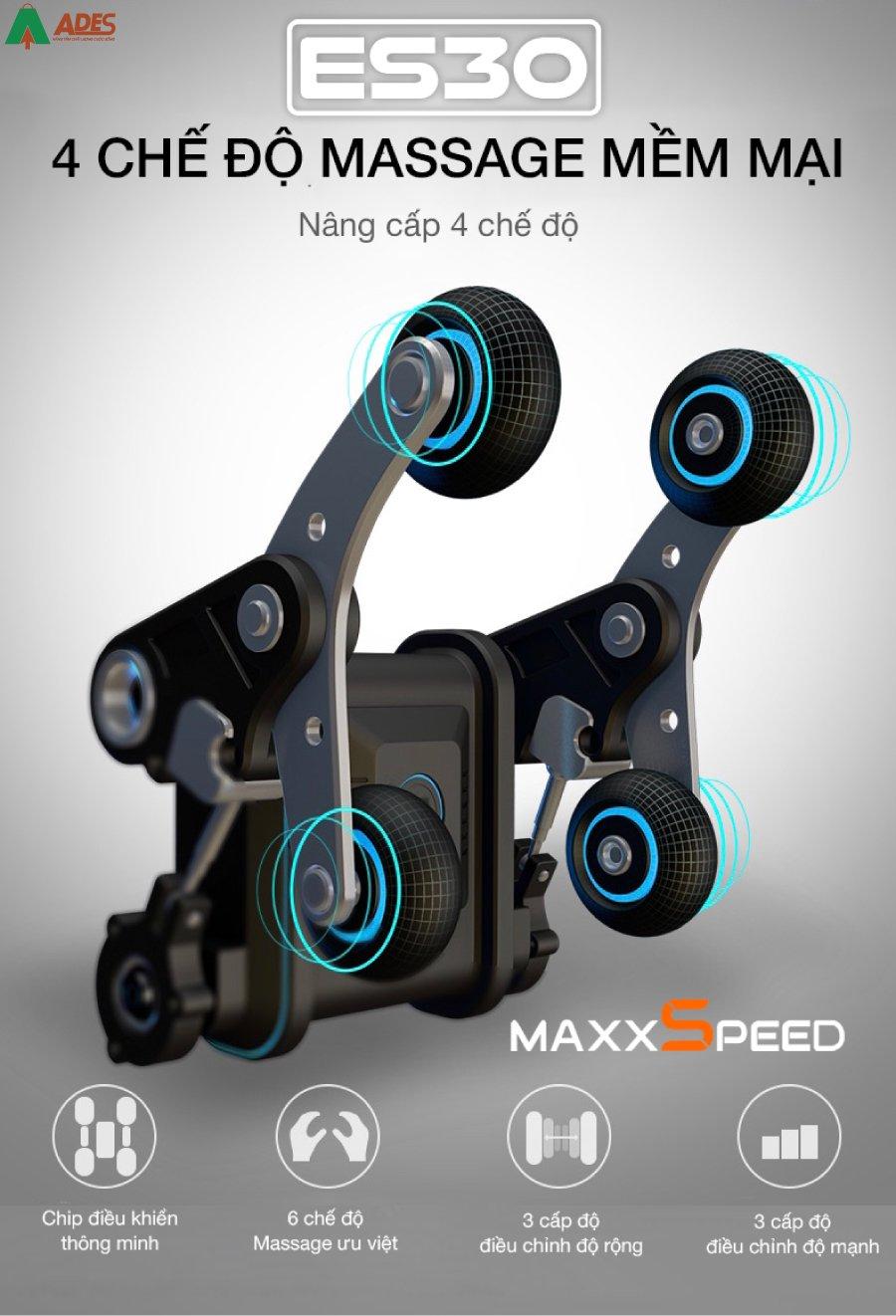Azaki Maxxspeed ES30 co He thong con lan da diem cong nghe 4D